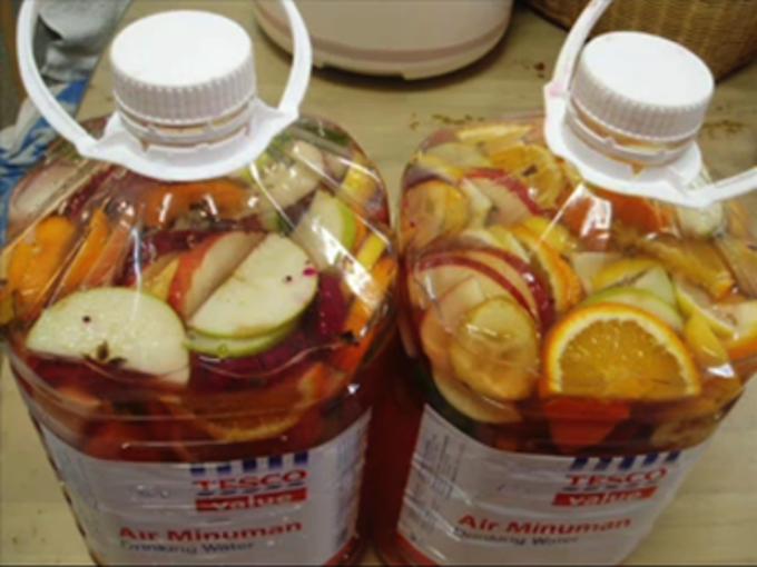 Приготовление фруктовых энзимов в домашних условиях
